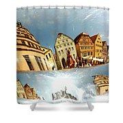 Rotenburg In A Tuba Shower Curtain