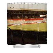 Rotherham - Millmoor - Main Stand 2 - 1970s Shower Curtain