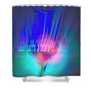 Rothko's Veil Shower Curtain