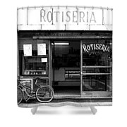 Rotiseria Shower Curtain