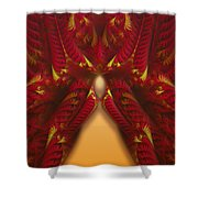 rotl_07c Lady Of the Choice 3 Shower Curtain
