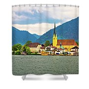 Rottach Egern On Tegernsee Architecture And Nature View Shower Curtain