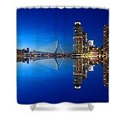 Rotterdam - The Netherlands Shower Curtain