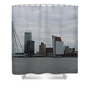 Rotterdam What A View Shower Curtain