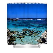 Rottnest Panorama Shower Curtain