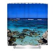 Rottnest Panorama Shower Curtain