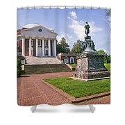 Rotunda, University Of Virginia Shower Curtain
