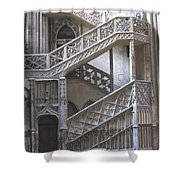 Rouen  France Shower Curtain
