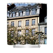 Rouen Half Timbered 22 Shower Curtain