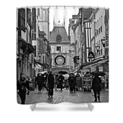 Rouen Street Shower Curtain