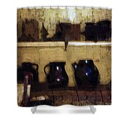 Rough And Rustic Shower Curtain