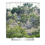 Rough Country Shower Curtain