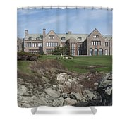Rough Point Shower Curtain