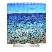Rough Sands Shower Curtain