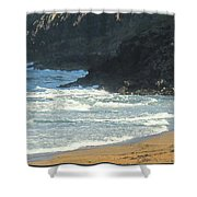 Rough Shores Shower Curtain