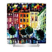 Rouin France Shower Curtain