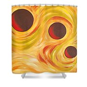 Round-a-bout Shower Curtain