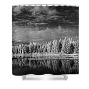 Round Lake State Park 2 Shower Curtain