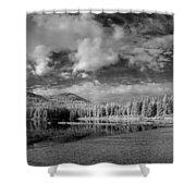 Round Lake State Park 6 Shower Curtain