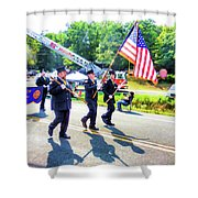 Round Top Vol. Fire Co. Inc. New York 1 Shower Curtain