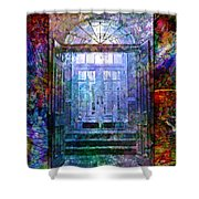Rounded Doors Shower Curtain
