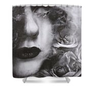 Rounded Soul Shower Curtain