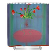 Rouseau Flowers Shower Curtain