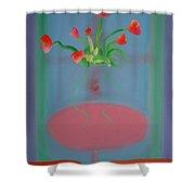 Rouseau Flowers Shower Curtain