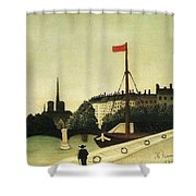 Rousseau 41 Henri Rousseau Shower Curtain