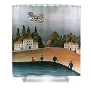 Rousseau: Fishermen, 1908 Shower Curtain