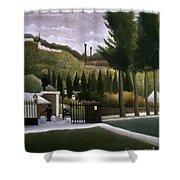 Rousseau: House, C1900 Shower Curtain