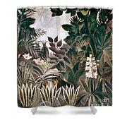 Rousseau: Jungle, 1909 Shower Curtain