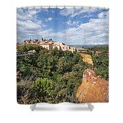 Roussilon Provence  Shower Curtain