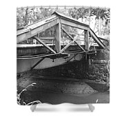 Route 532 Bridge Over The Delaware Canal - Washington's Crossing Shower Curtain