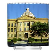 Route 66 - Lincoln Illinois Shower Curtain