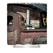 Route 66-60 Shower Curtain