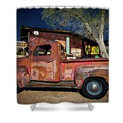 Route 66-61 Shower Curtain