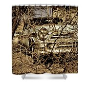 Route 66-66 Shower Curtain