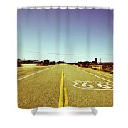Route 66-73 Shower Curtain