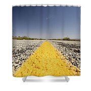 Route 66-74 Shower Curtain