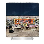 Route 66-75 Shower Curtain