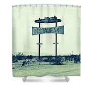 Route 66-80 Shower Curtain