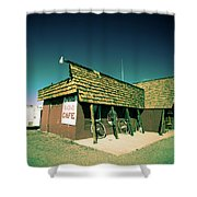 Route 66-86 Shower Curtain