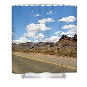 Route 66 - Arizona Shower Curtain