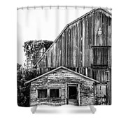 Route 66 Barn 1 Shower Curtain