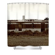 Route 66 Diner 7 Shower Curtain