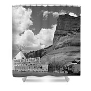 Route 66 - Lupton Arizona Shower Curtain
