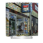 Route 66 Mercantile Cuba Mo Dsc05597 Shower Curtain