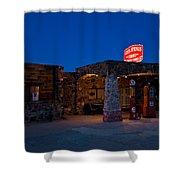Route 66 Outpost Arizona Shower Curtain