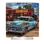 Route 66 Seligman Shower Curtain